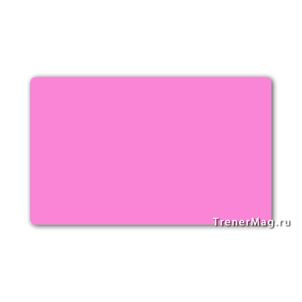 Карточки магнитные для записей Розовые для
