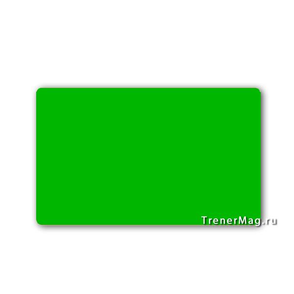 Карточки магнитные для записей Зеленые для