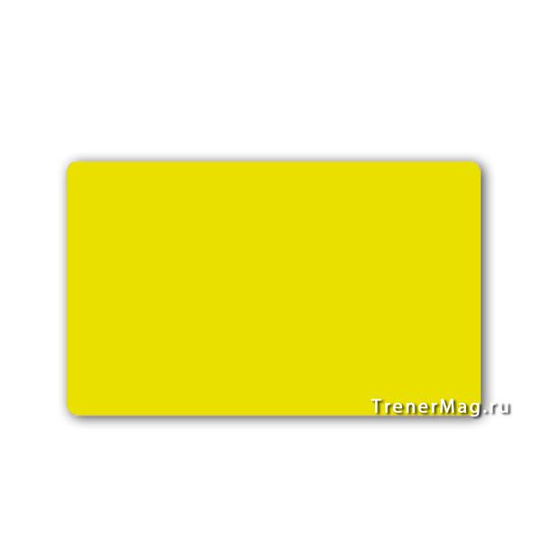 Карточки магнитные для записей Желтые для