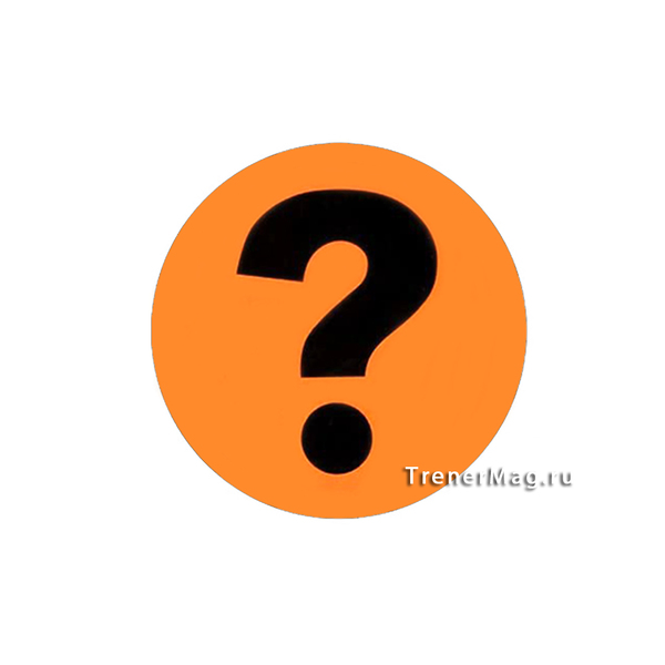 Магнитный знак Вопрос для гармонизации в бизнесе