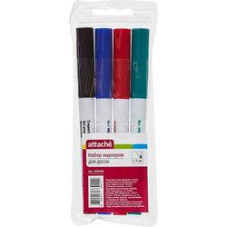 Набор маркеров Attache для белых досок (пуля, 1-3мм)