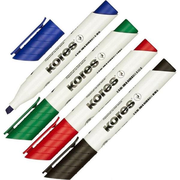Маркер для белых досок Kores (клин, 1-4мм) для agile коуча