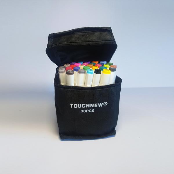 использование Набор маркеров TouchNew двухсторонние 10цв. (Клин+Пуля) для мероприятия