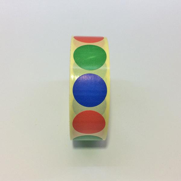 Разноцветные стикеры для голосования АССОРТИ для проведения социометрии на тренинге