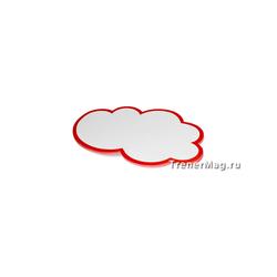 Карты белые Облака А5 с цветной окантовкой