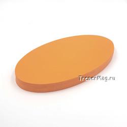 Модерационные карты Овальные 11*19 см (Оранжевые)