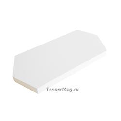 Карты модерационные Ромб 9,5х20,5см (Белые)