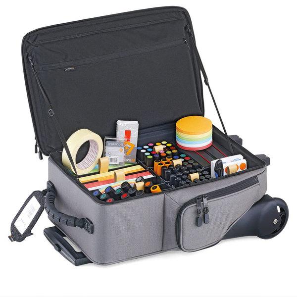 Профессиональный чемодан фасилитатора на колесиках для модератора сессий