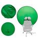 Круглый зеленый экран на изголовье кресла 6 для
