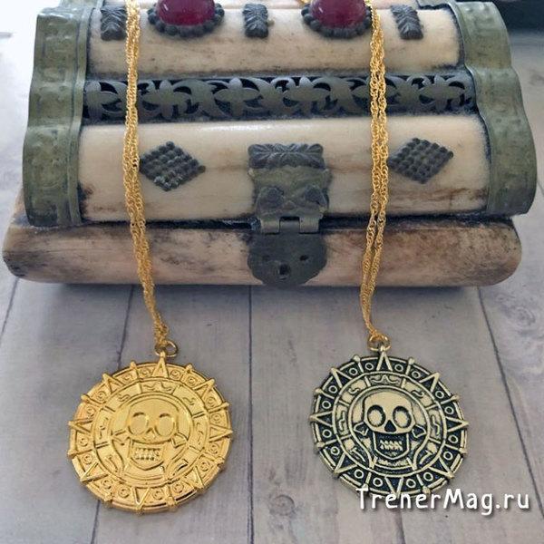 применение Ацтекская монета Пирата (35мм) на выставках