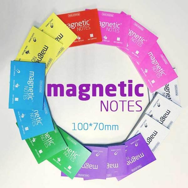 """Карты Magnetic NOTES """"М"""" электростатические карты (100х70мм, 100шт.) для выступающего"""