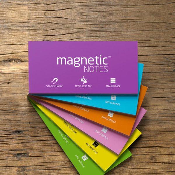 Карты Magnetic NOTES L электростатические (200х100мм, 100шт.) для работы фасилитатора