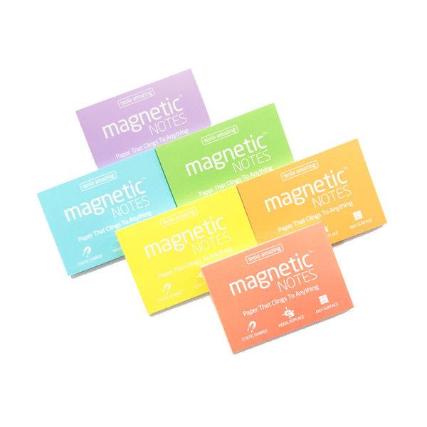 Карты Magnetic NOTES электростатические S (70х50мм, 100шт.) для команды на daily