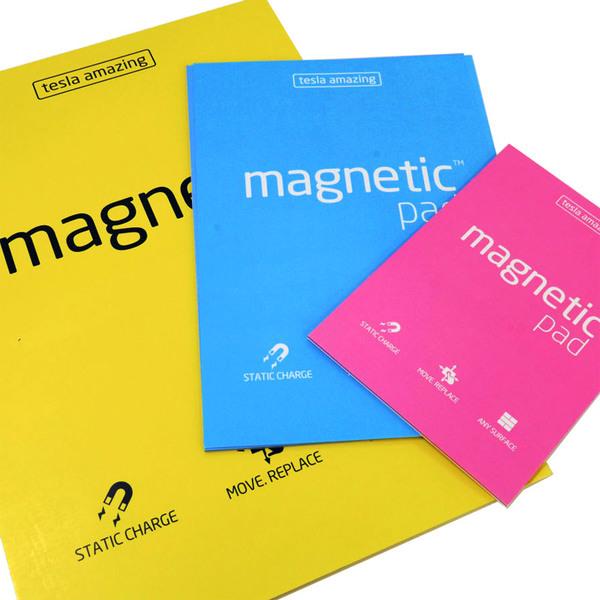 Блокнот Magnetic PAD А3 электростатические (297х420мм, 50шт.) для проведения стратегической сессии