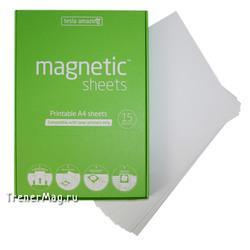 Листы Magnetic SHEETS электростатические (А4, белые)