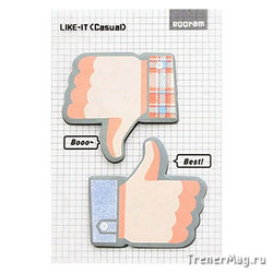 Стикеры Like-IT Рука, ОК! (60х56мм, 40л.)