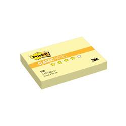Post-it стикеры 51x76 мм, желтые пастельные, 100 листов