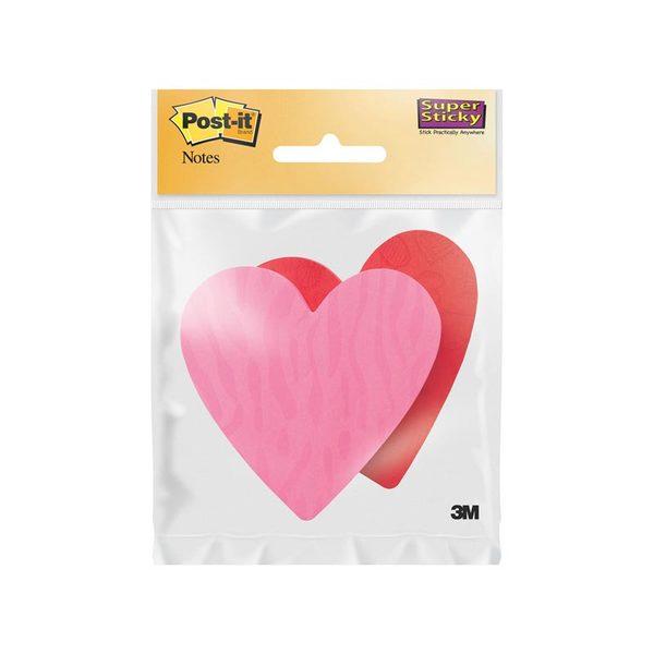 Клейкие Post-It листочки Сердце (73х71 мм, 150 л.) для проведения рабочей группы