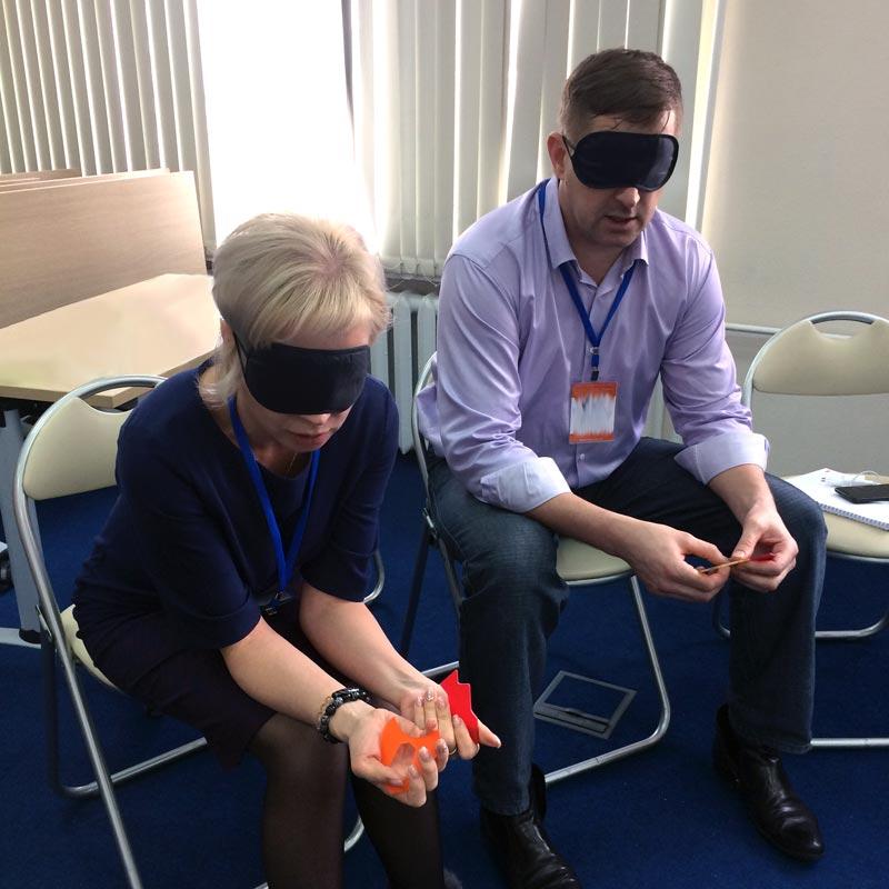 игра для тимбилдинга коммуникация вслепую 2.0