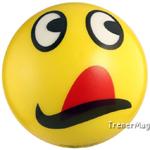 мяч детский эмоджи желтый для ведущего
