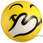 мяч детский эмоджи желтый для учителя