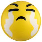 мяч детский эмоджи желтый для фасилитатора
