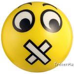 мяч детский эмоджи желтый для сессии