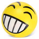 мяч детский эмоджи желтый для мастер класса