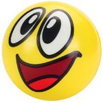 мяч детский эмоджи желтый для тренинга