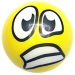 мяч детский эмоджи желтый для модерации