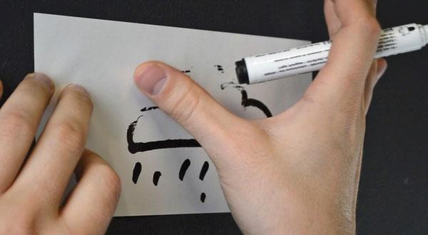 электростатические карты размер М